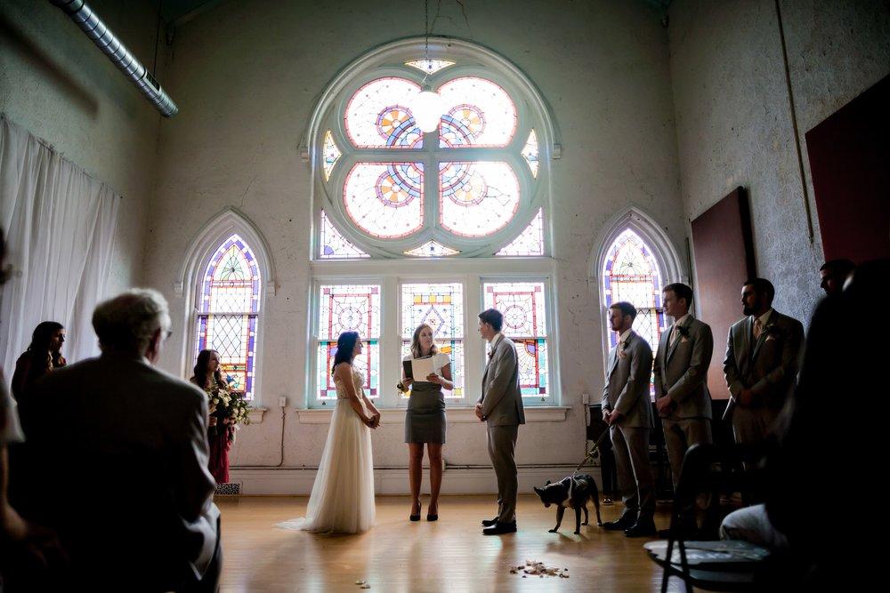 Marina Smeone real bride Caroline