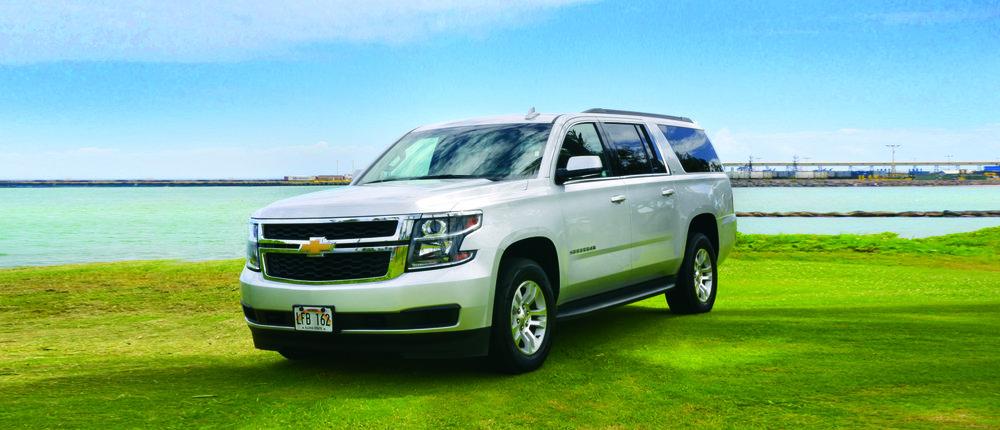 Chevrolet Suburban Luxury Touring Edition