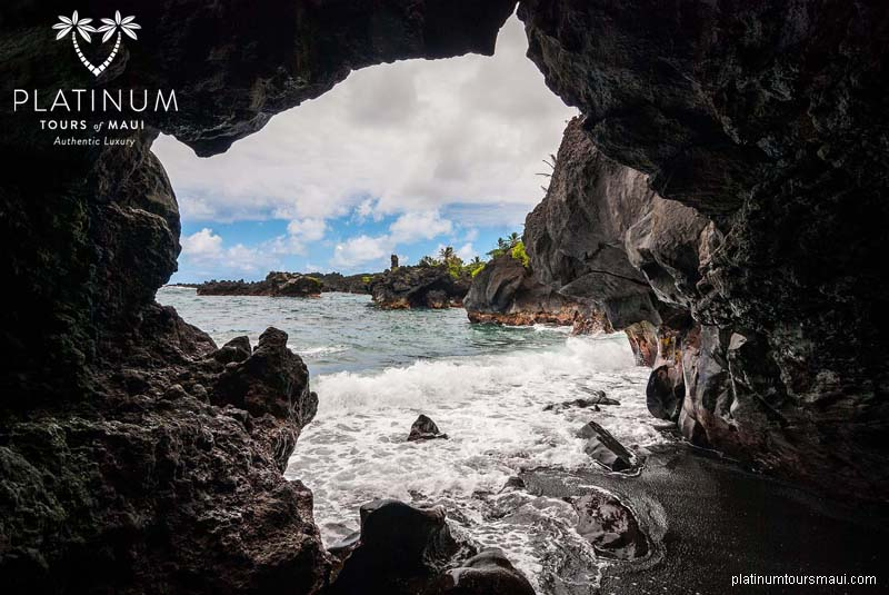 Sea Cave in Wai'anapanapa State Park