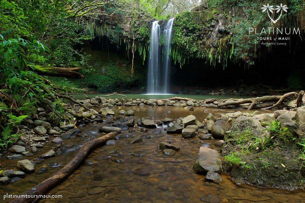 Twin Falls, on the Road to Hana, Maui