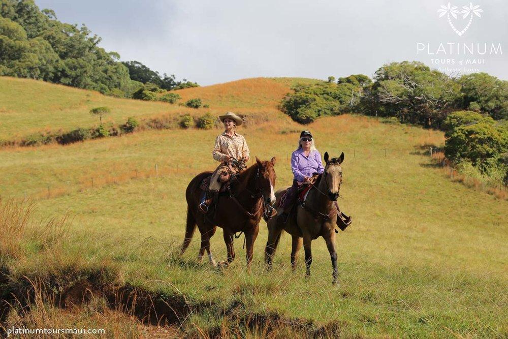 Horseback Riding at Piiholo Ranch, Maui