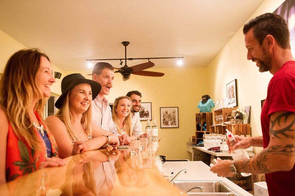 Hali'imaile Distilling Company Tasting Tour
