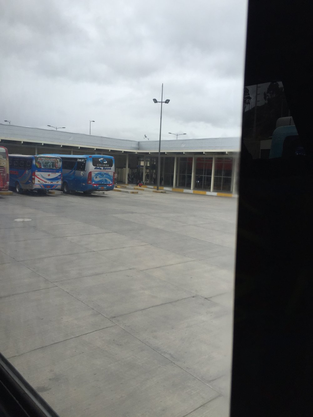 The Bus Station were I almost lost Frank