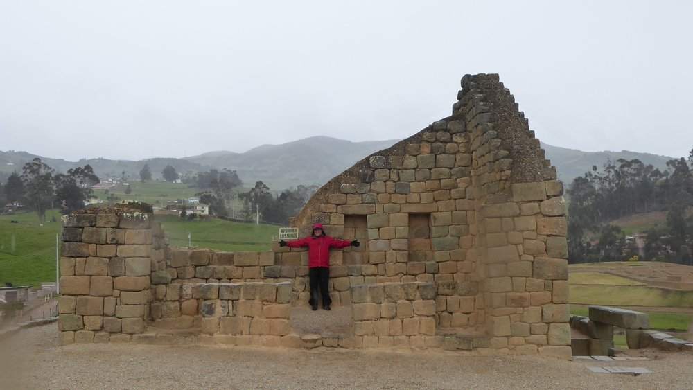Frank at the sun temple