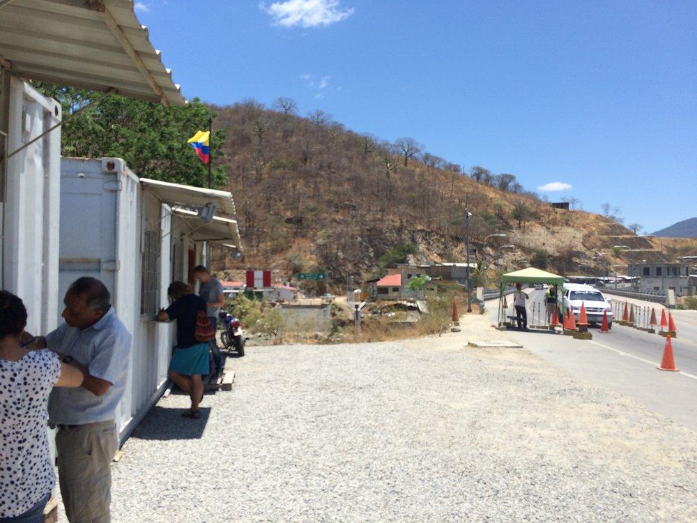 The Ecuadorian border