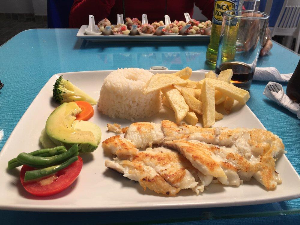 Fresh fish - Paracas