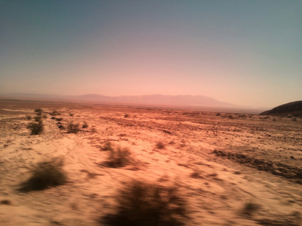 View from bus ride to Nazca