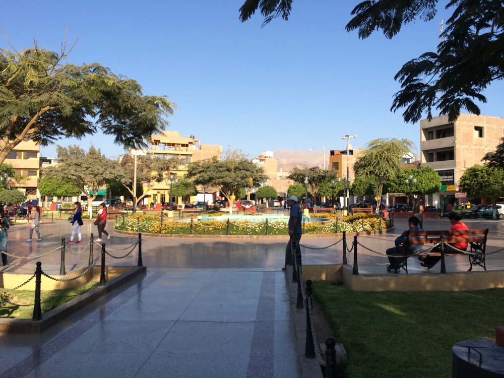 City square - Nazca