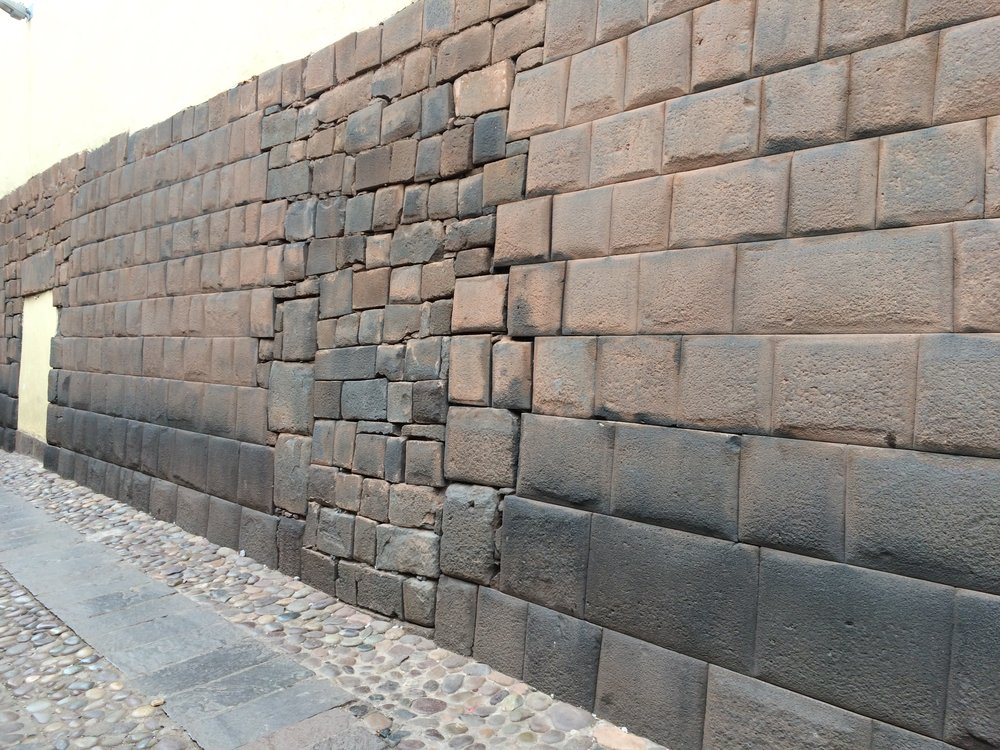 The Inca/Spanish Wall