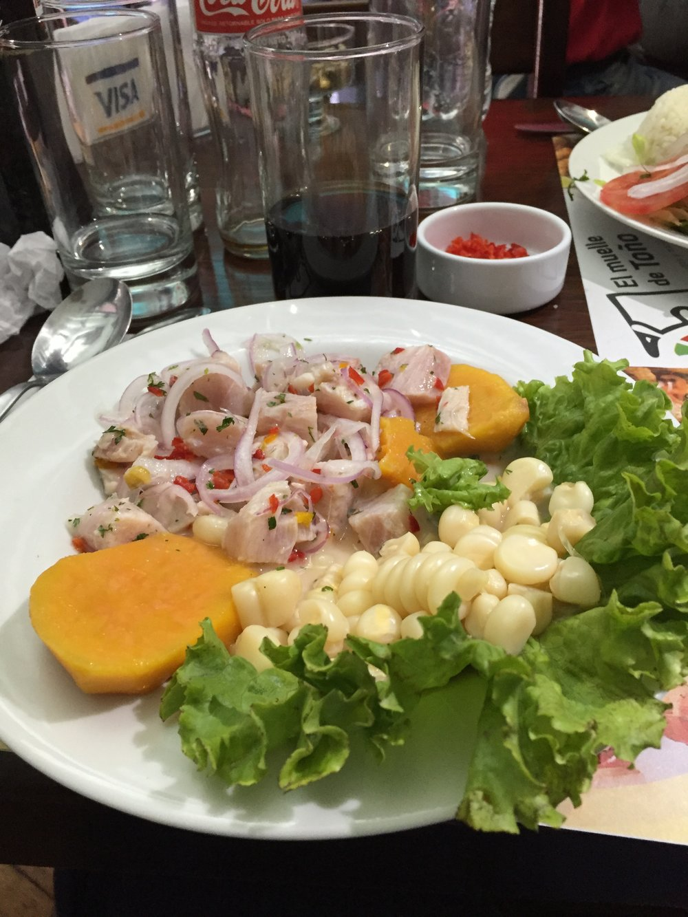 ceviche for Janet