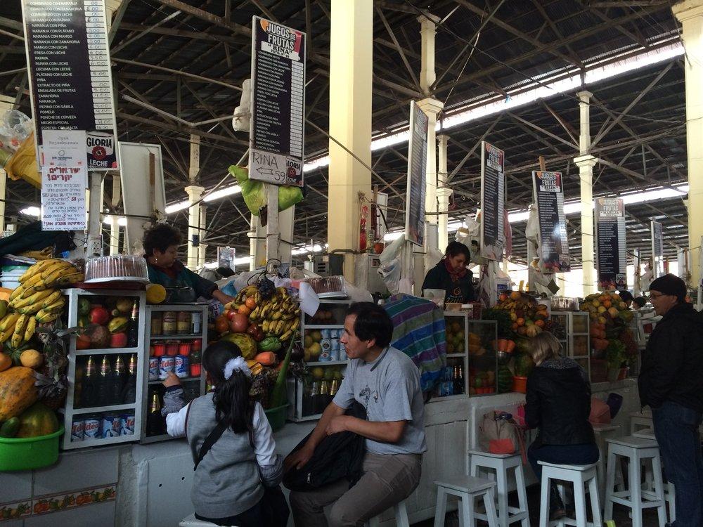 Cusco local market