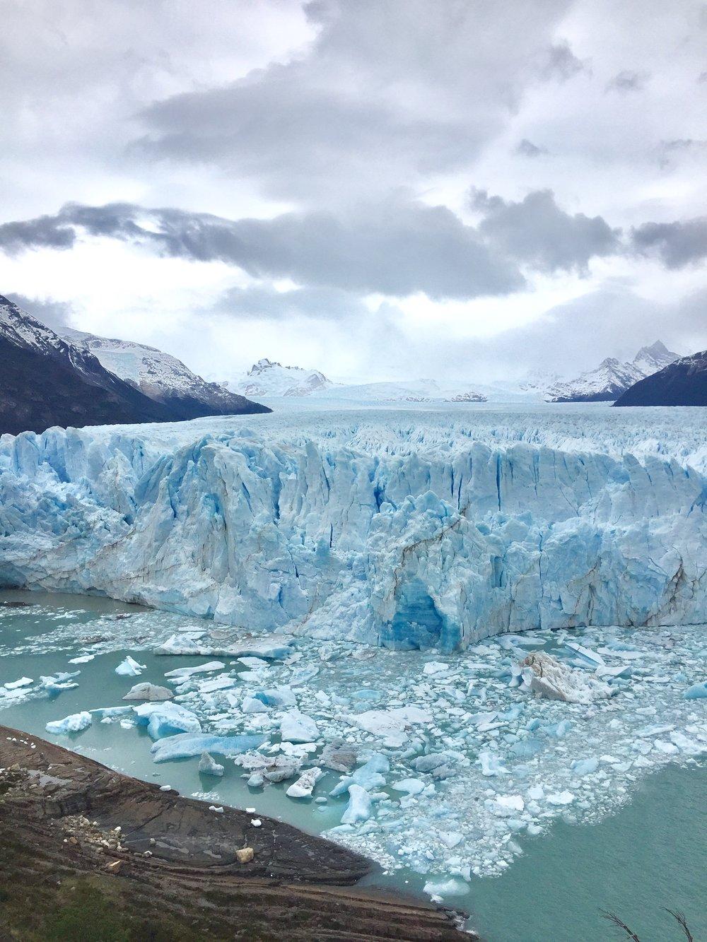 Moreno glacier