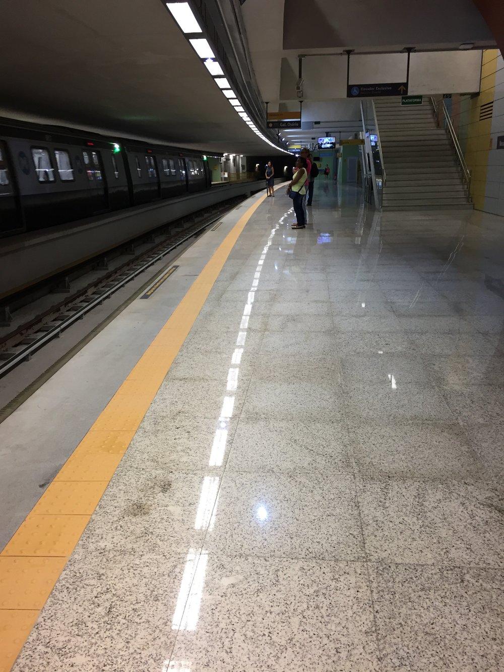 Subway in Sao Paulo