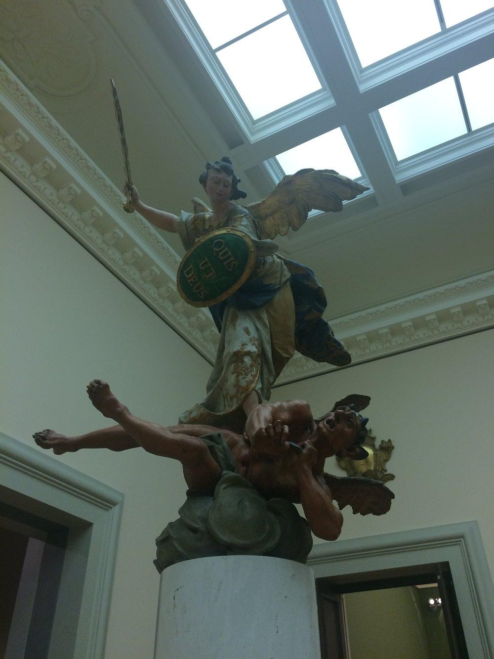 Alte Sculpture