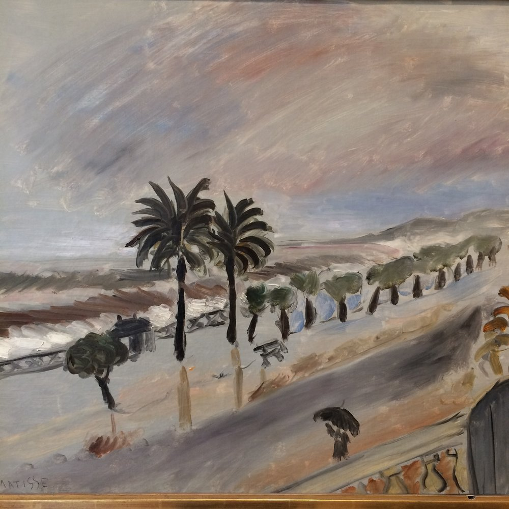 Matisse Nice scene