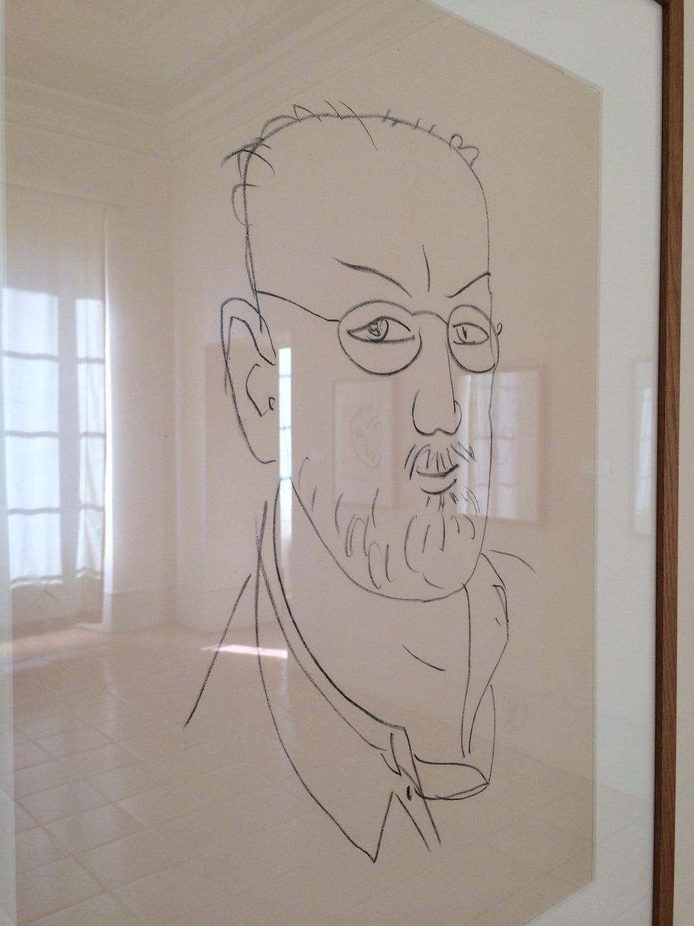 Matisse self portrait