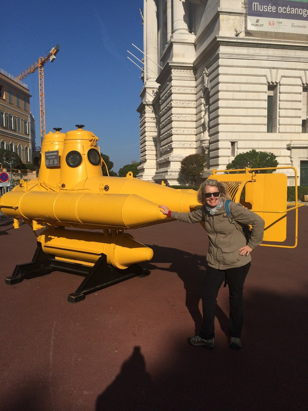 Jacque Costeau's submarine