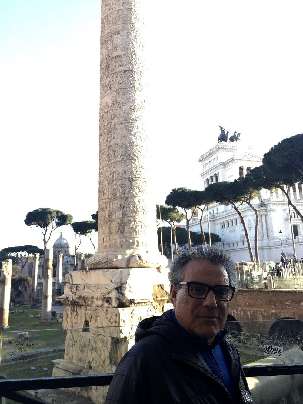First walk in Rome
