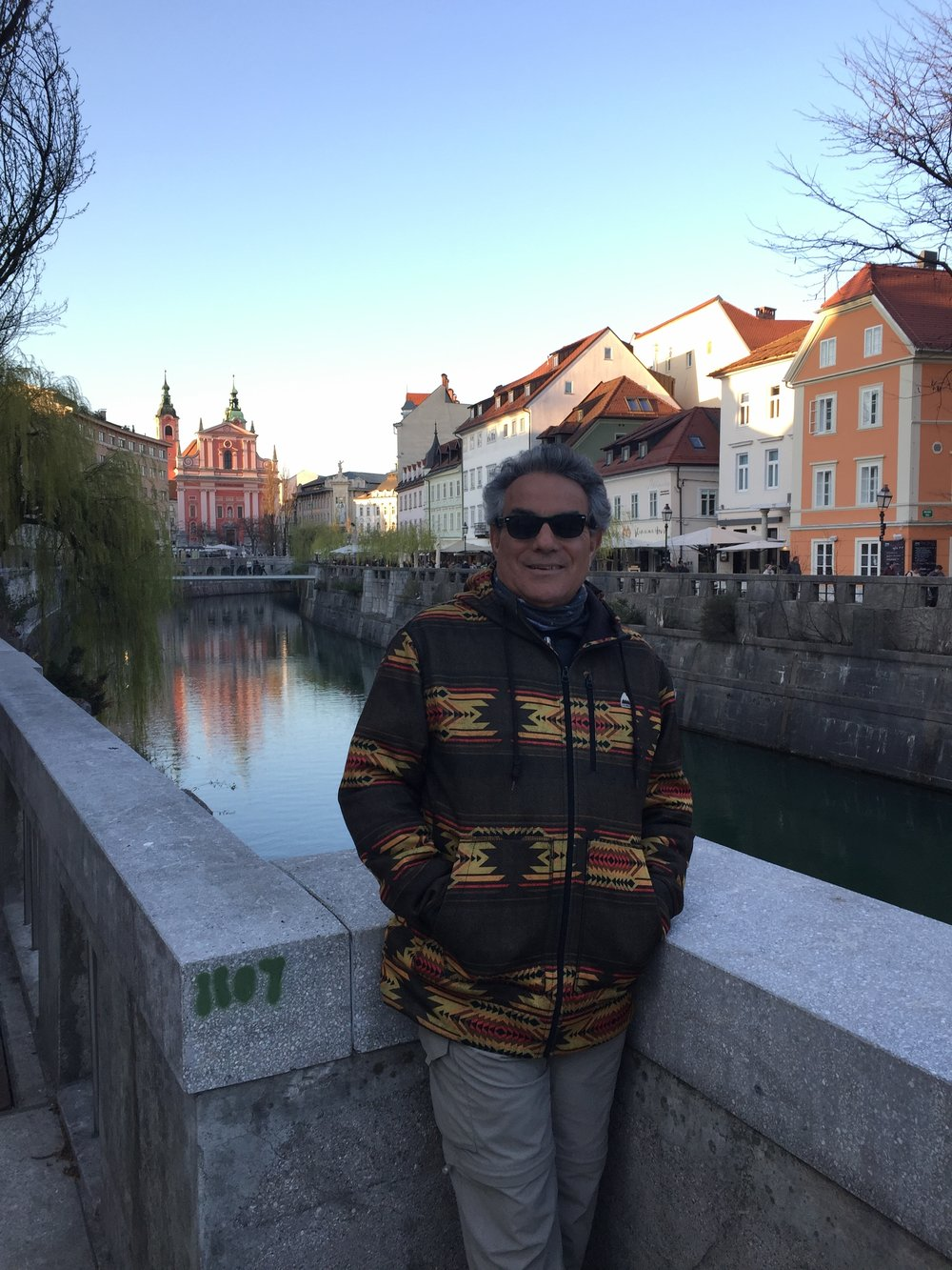 Frank in Ljubljana