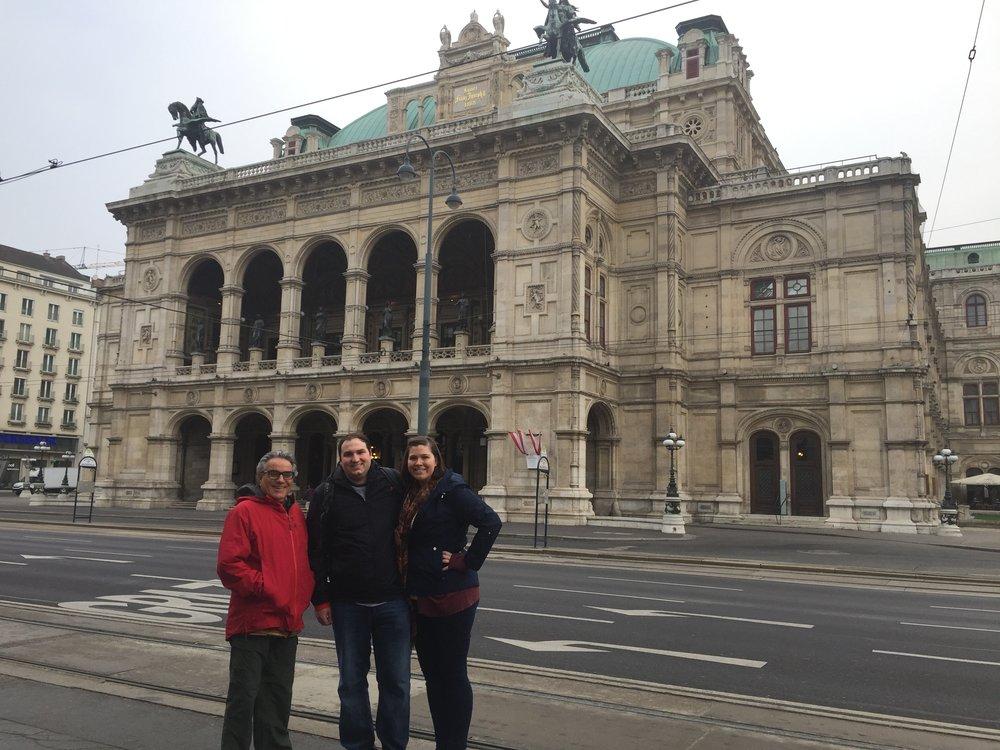 The Opera house we toured