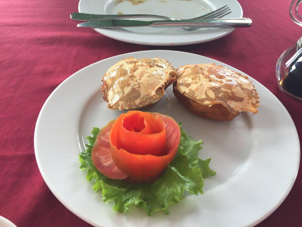 "crab cakes ""Viet"" style"
