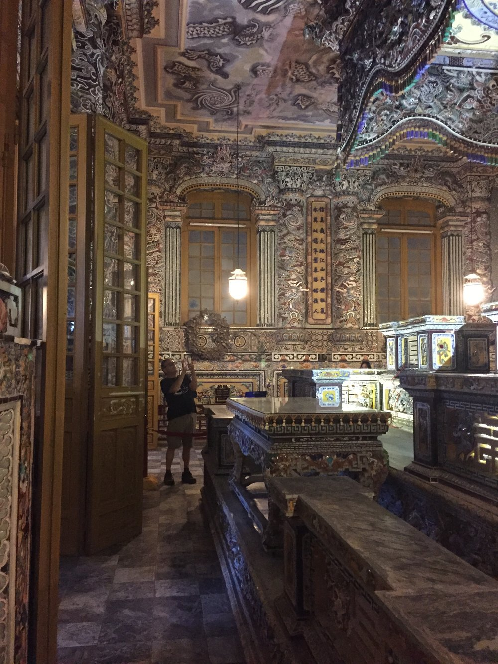 The tomb room