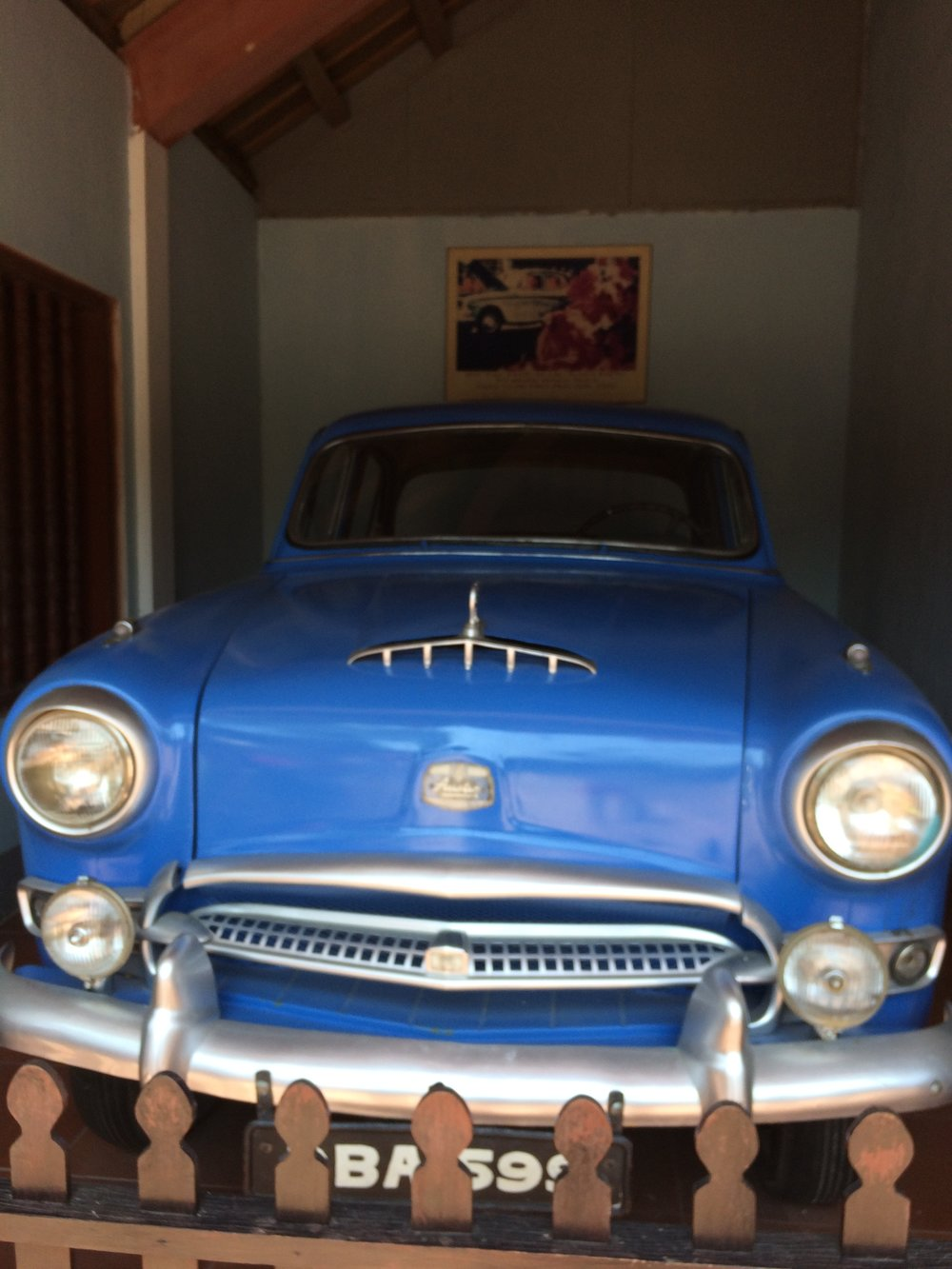 A model of the car