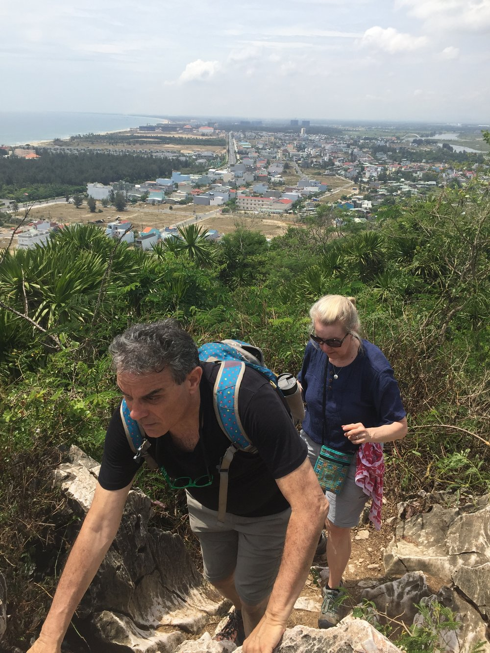 Climbing Marble Mountian