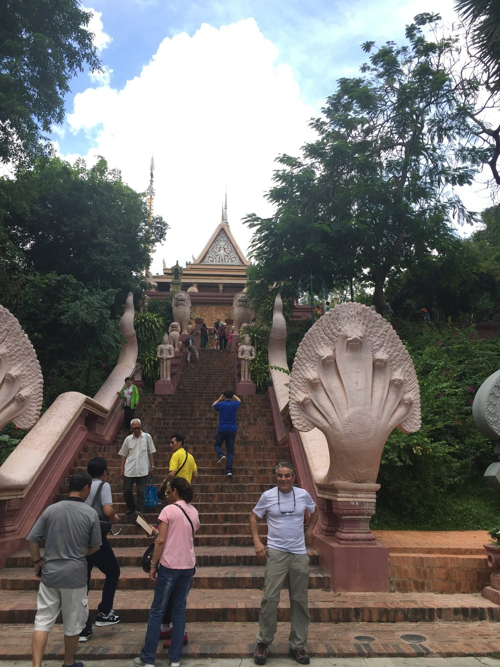 Steps to the pagoda