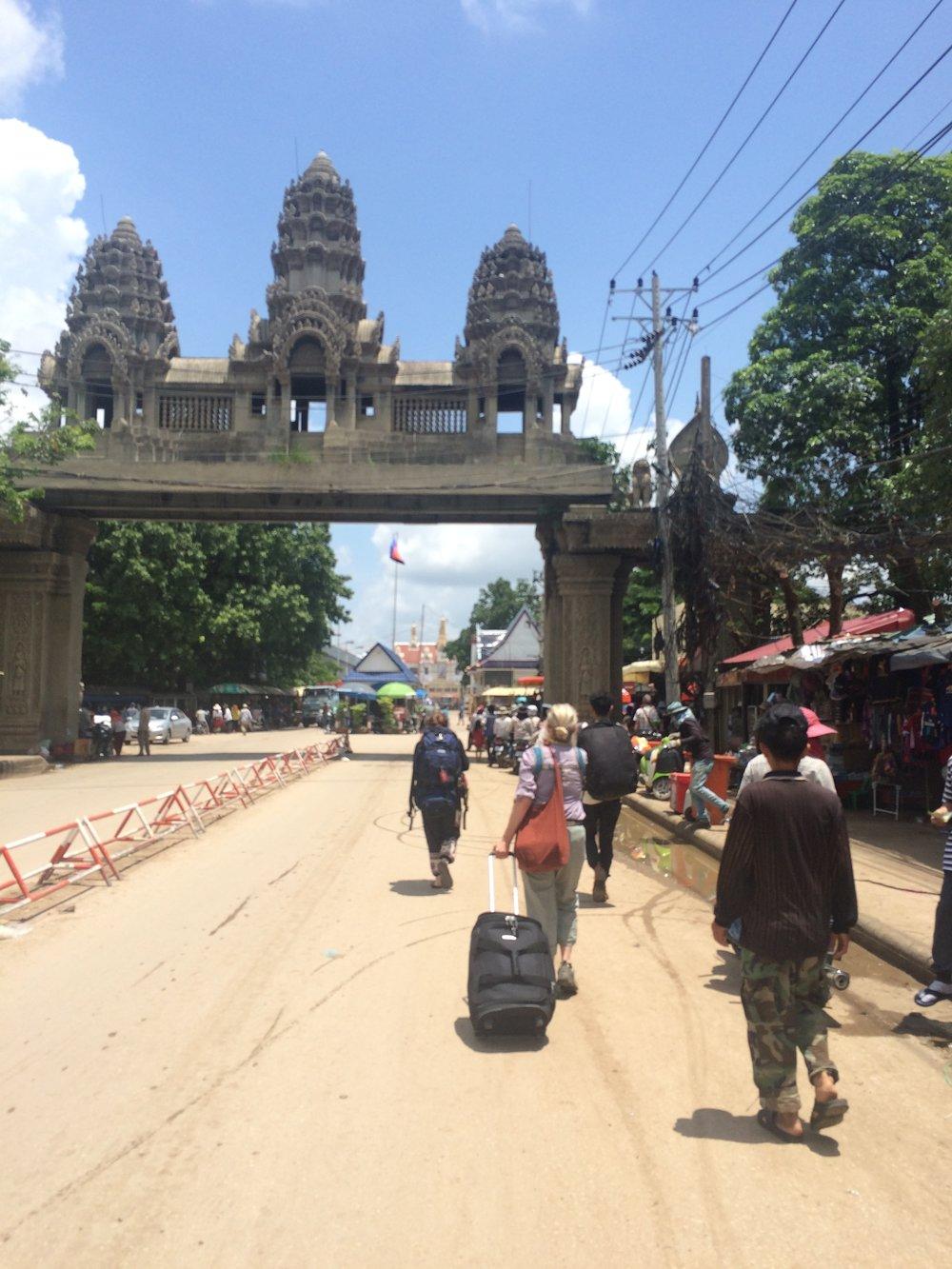 The Cambodia exit