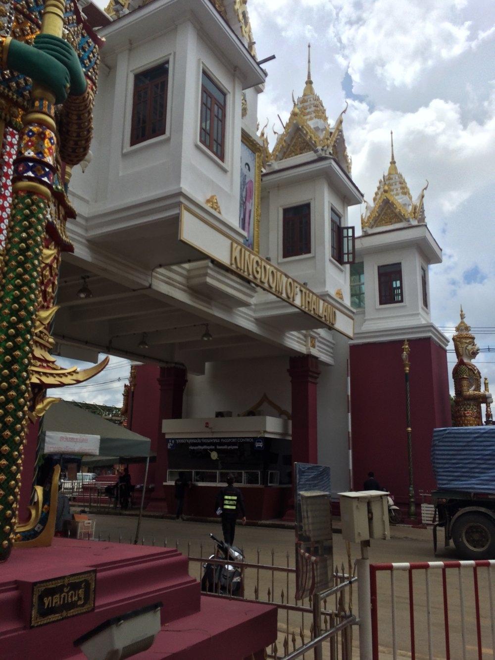 Entering Thailand