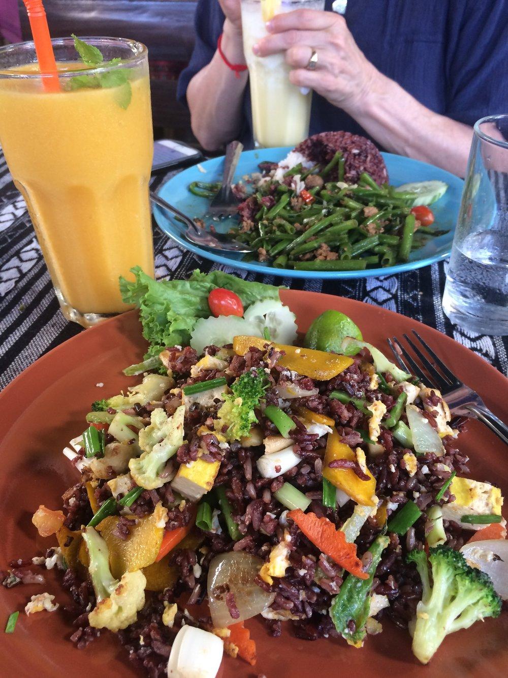 Thai Chicken & Pineapple shake