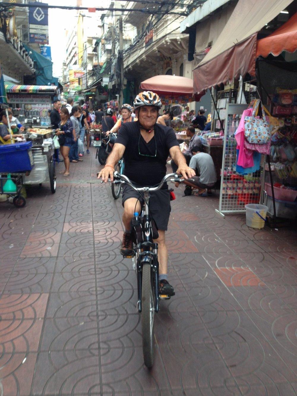 Frank Biking