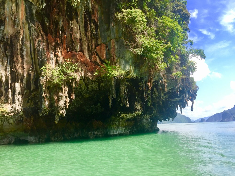 The area around James Bond Island