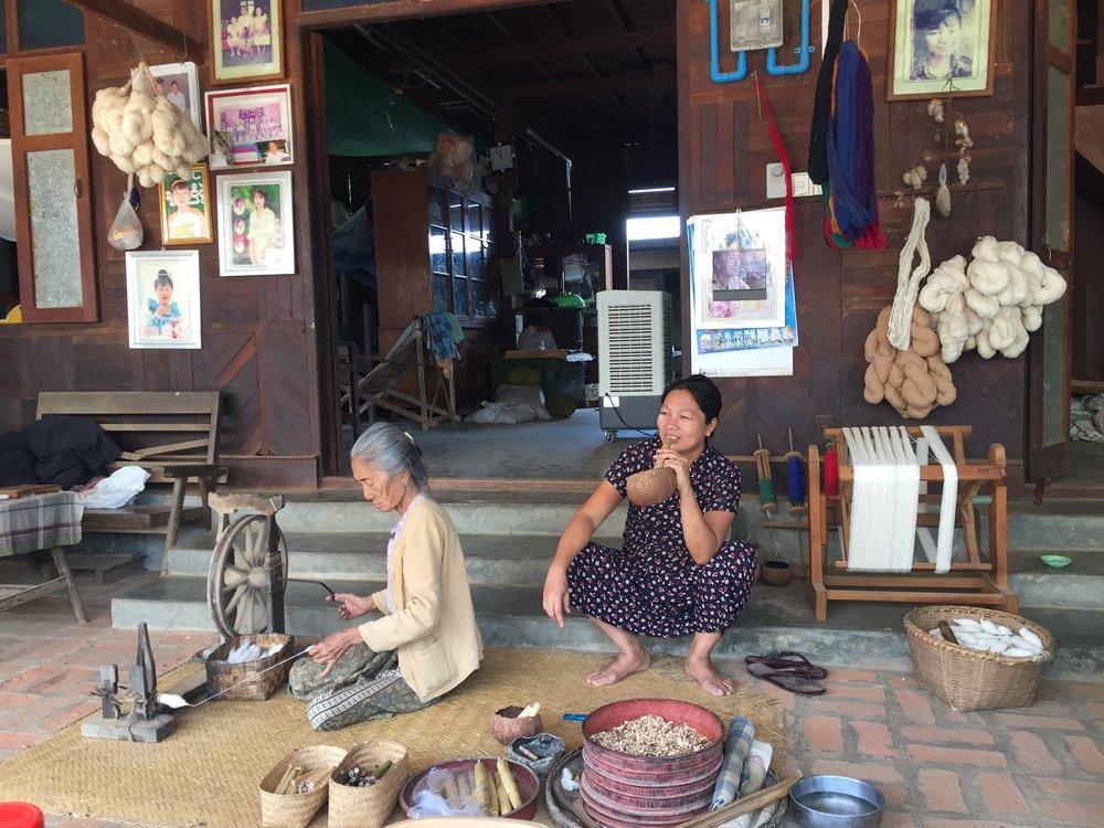 The village women