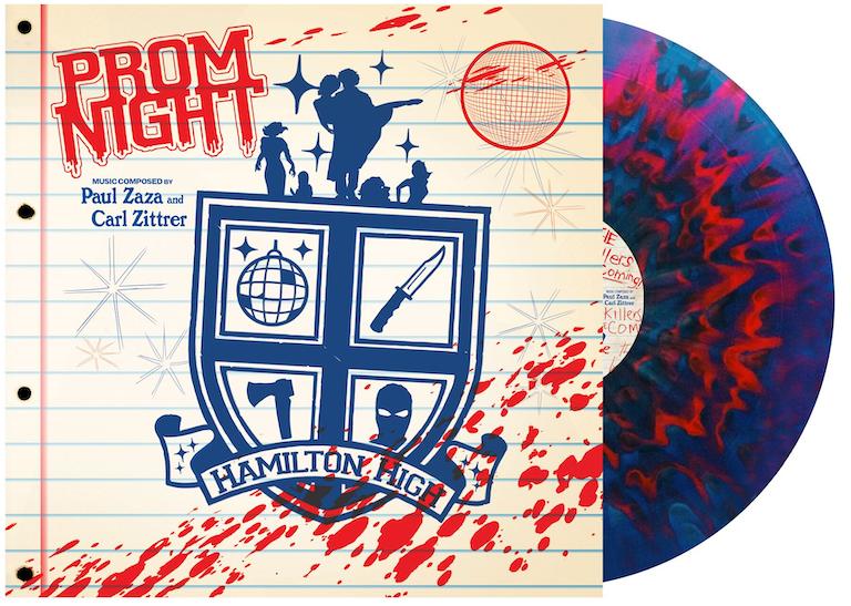 Prom Night Soundtrack LP (Disco Acid Flashback variant) — 1984 PUBLISHING