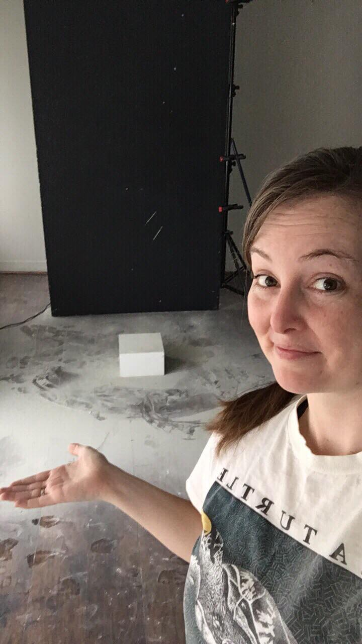 """Any day the studio looks like this, it's just proof of a really memorable experience."" - Alyson Rorem 