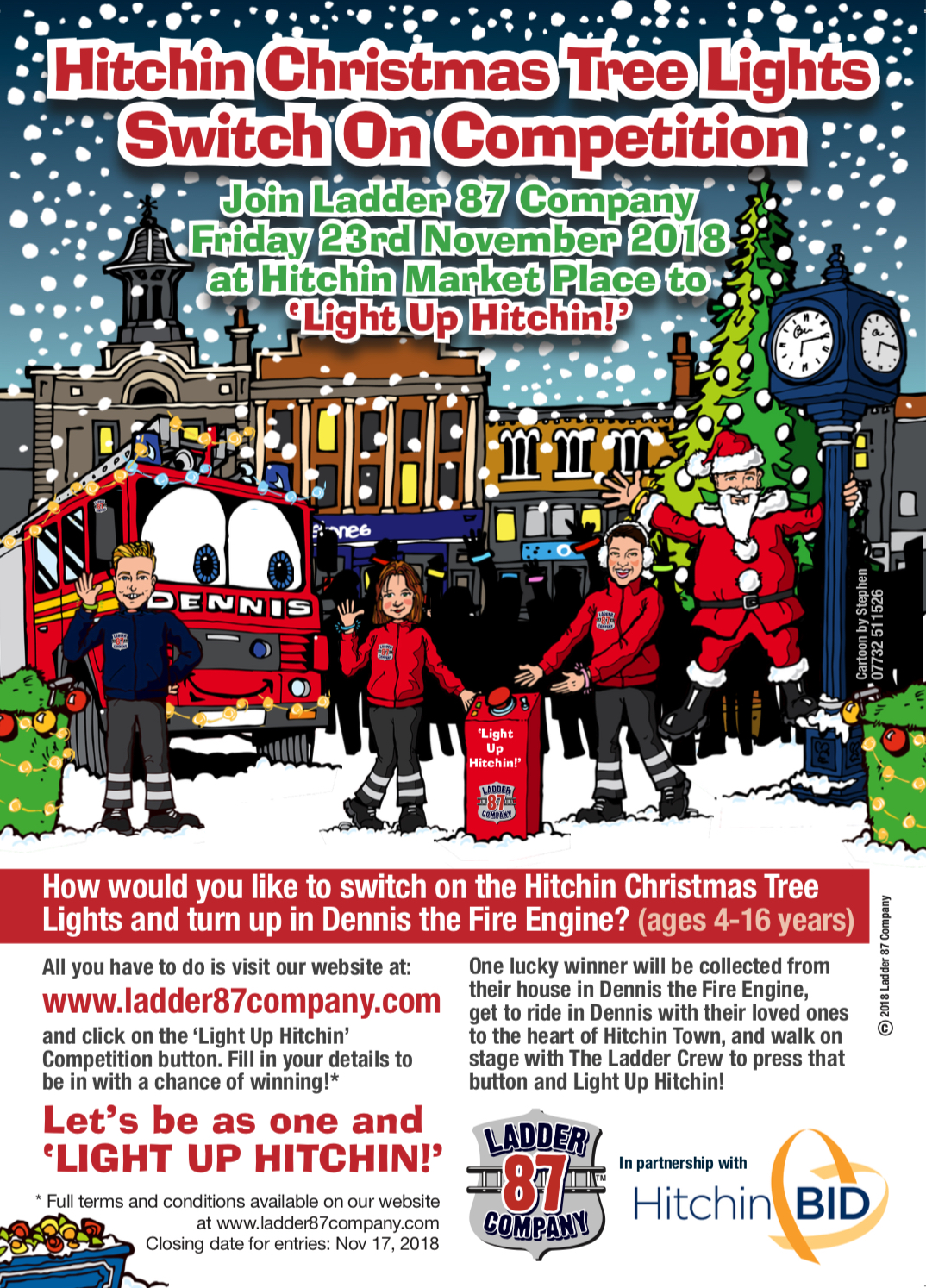 Christmas Tree Lights Competition Ladder 87 Company Parallel Click For Details Img 4270 The Win Chance To Switch On Hitchin
