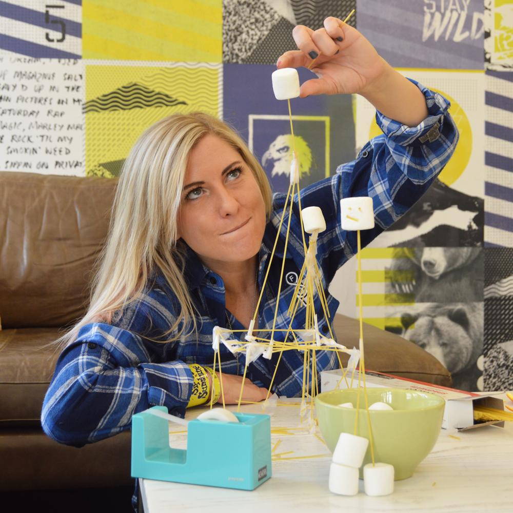 Erin Essex Marshmallow Challenge