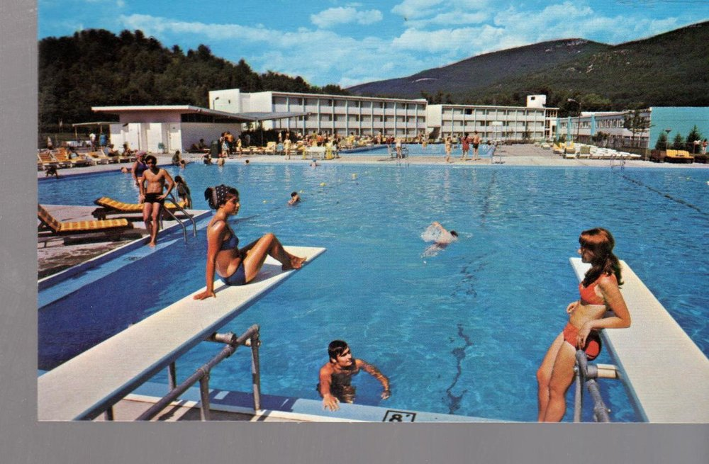 Homowack lodge pool, year unknown
