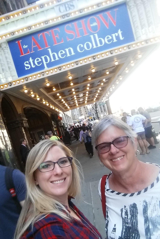 Outside Colbert