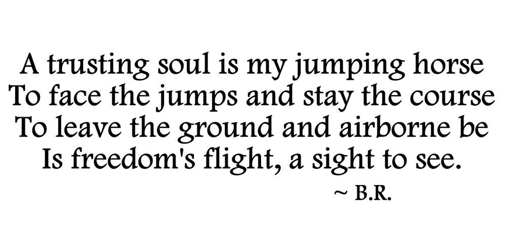 Leap of Faith Poem
