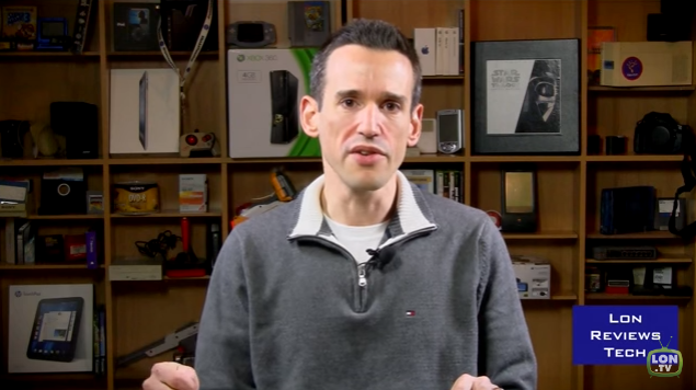 Lon Seidman, host of  Lon Reviews Tech .