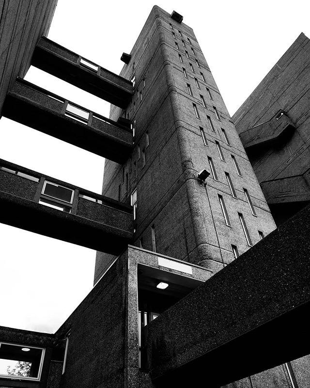the concrete squidmonster  #blackandwhite #blackandwhitephotography #blackandwhitephoto #bnw #monochrome #mono #brutalism #brutalist #brutalistarchitecture #brutal_architecture #brutalismus #brutalismo #architecture #archidaily #architecturelovers #architecturephotography #archdaily #archilovers #architektur #ig_architecture #bw #britisharchitecture #concrete #concretelove #concreteporn #londonarchitecture #britisharchitecture #buildinglover #carradalehouse #lookingup