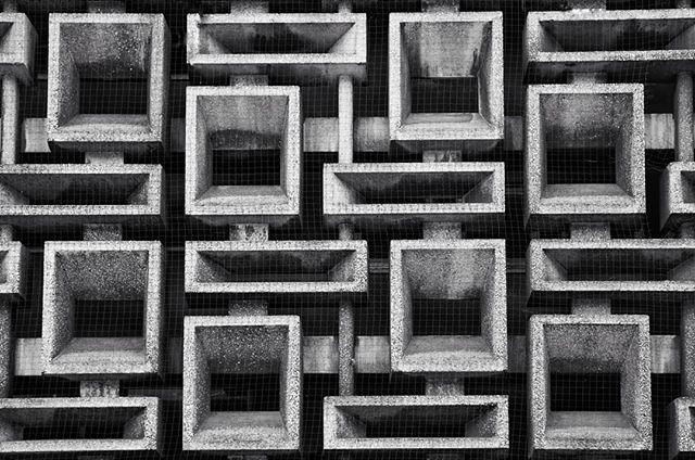 riotously rectangular  #blackandwhite #blackandwhitephotography #blackandwhitephoto #bnw #monochrome #brutalism #brutalist #brutalistarchitecture #brutal_architecture #betonbrut #concrete #concretelove #architecture #archidaily #architecturelovers #architecturephotography #archdaily #archilovers #architektur #ig_architecture #bw #modernarchitecture #modernistarchitecture #londonarchitecture #londonbuildings #britisharchitecture #squares #rectangles #concreteporn #concretejungle