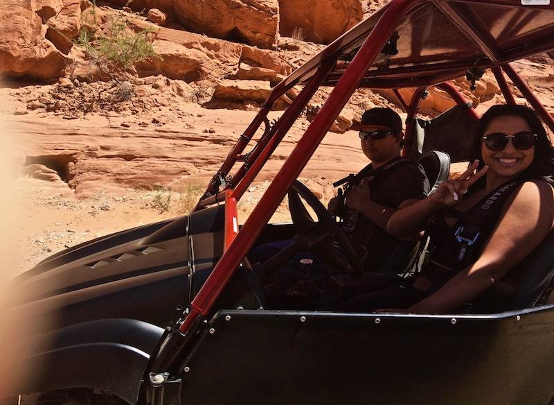 Las Vegas ATV UTV RZR Rhino rentals customer pic 8