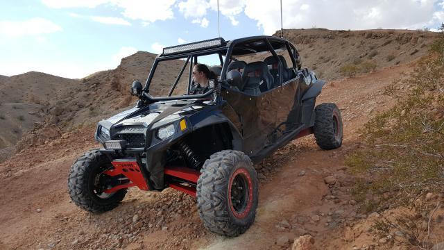 Las Vegas ATV rentals custom RZR