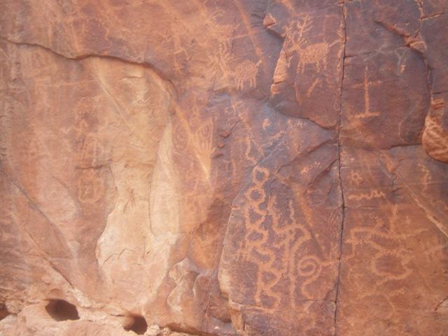 Rent ATV Las Vegas Indian Petroglyphs