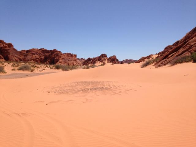 Las Vegas ATV Tours Sand Dunes