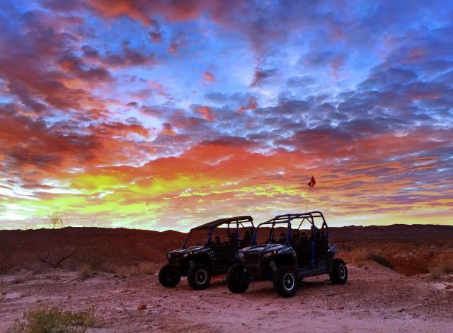 Las Vegas RZR Rentals Sunset